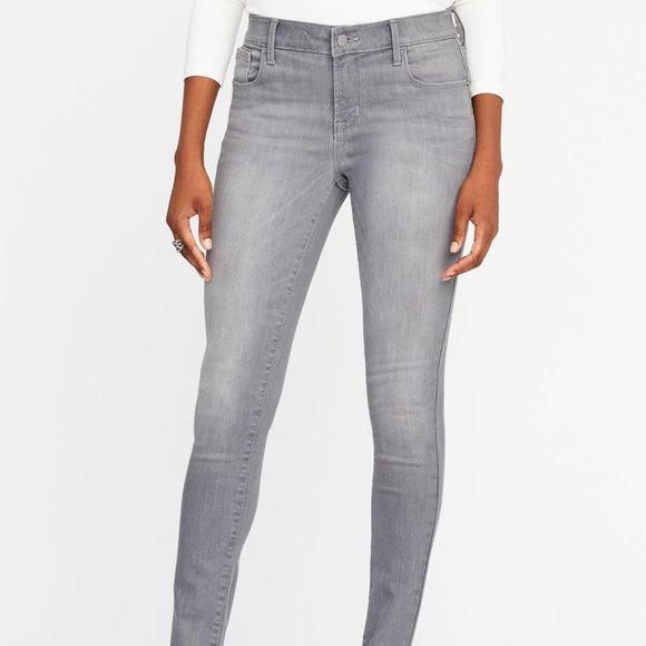 Old Navy Denim - Gray Rockstar Jeans